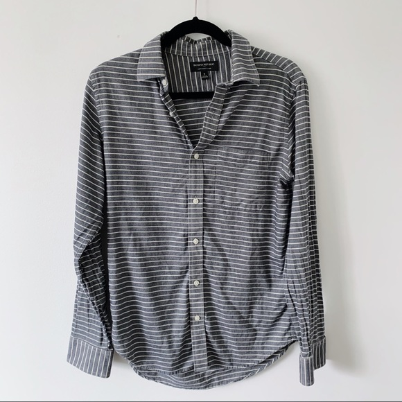 Banana Republic Other - Banana Republic Lightweight Flanel Striped Shirt